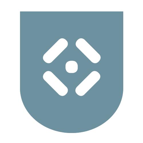 Das Logo des Fachbereichs Eigenverwaltung invers