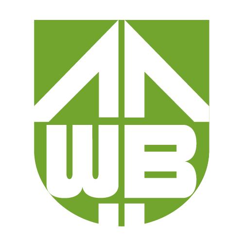Das Logo des Eigenbetriebs Wohnungsverwaltung invers