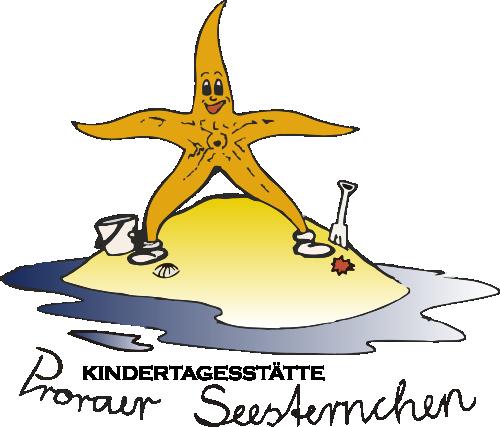 Das Logo der KiTa Proraer Seesternchen.