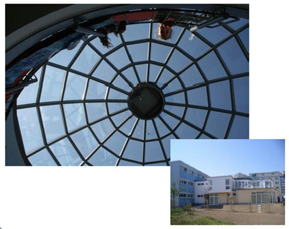 Die Regionale Schule in Binz.