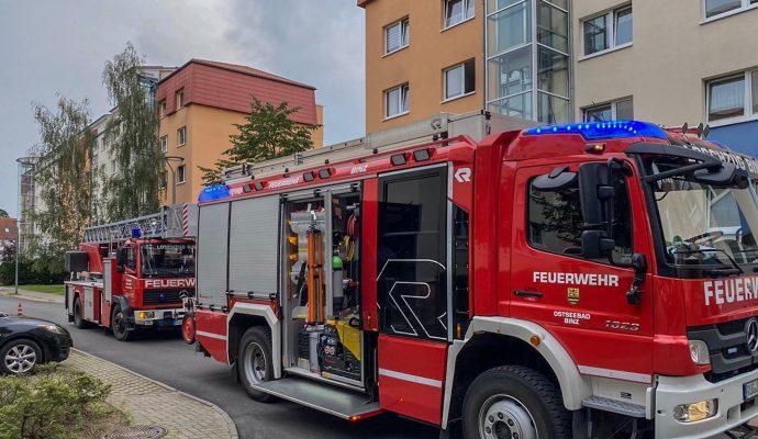 Bild zum Artikel Binzer Feuerwehr im Dauereinsatz