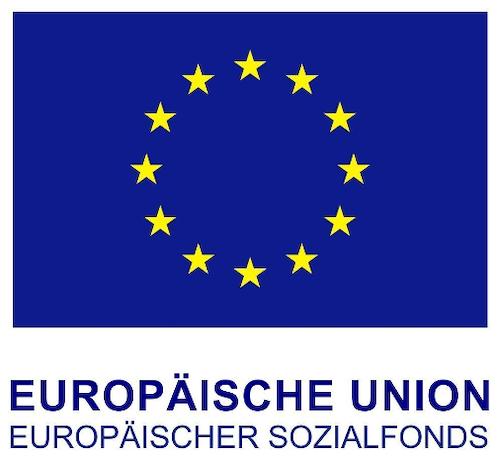 Flagge des Europäischen Sozialfonds